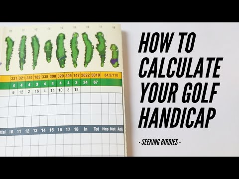 How To Calculate Your Handicap - Here's the formula
