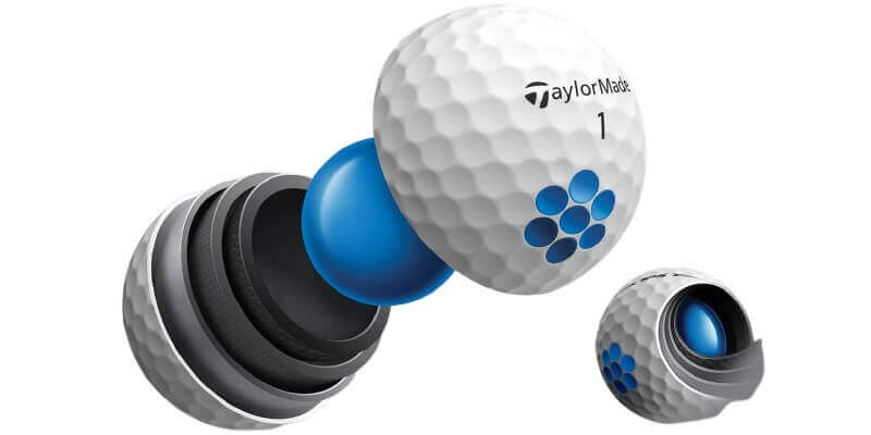 TaylorMade TP5 Construction